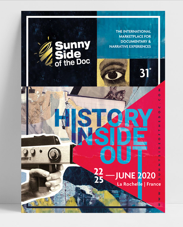 Création de l'affiche du Sunny Side of the doc 2020